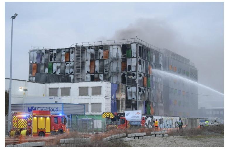 Incendie OVH Strasbourg